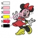 Minnie Mouse Cartoon Embroidery 2